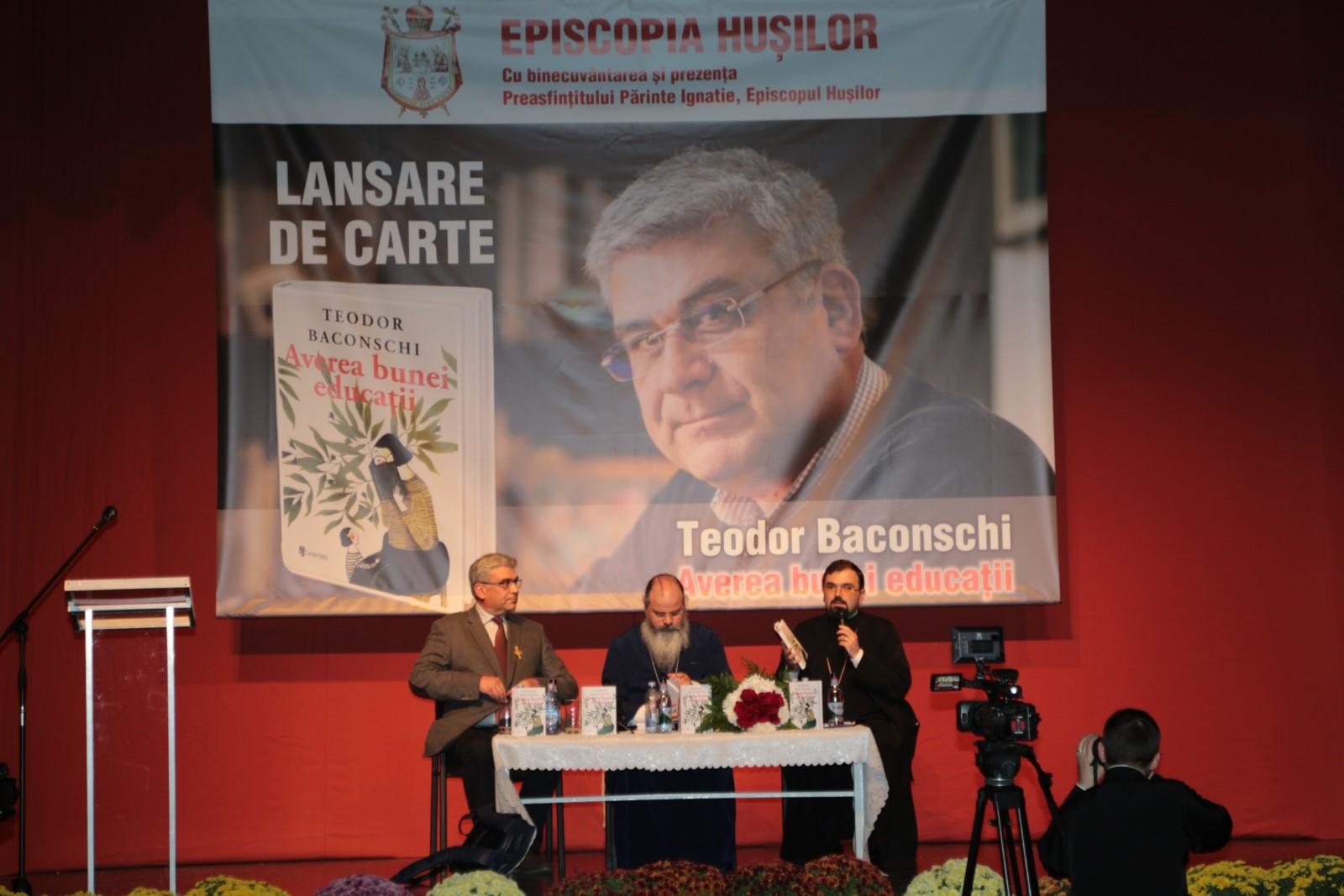 Lansare de carte: Averea bunei educații
